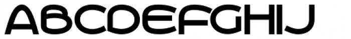 Roona Sans Bold Font UPPERCASE
