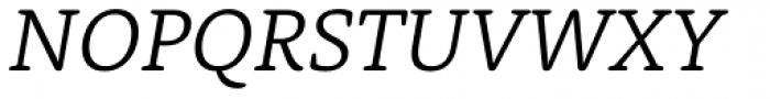 Rooney Light Italic Font UPPERCASE