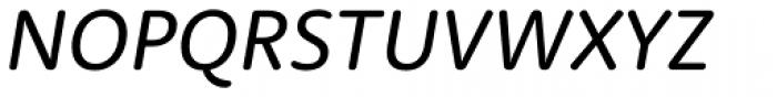 Rooney Sans Italic Font UPPERCASE