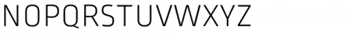 Ropa Mix SC Pro Extra Light Font LOWERCASE