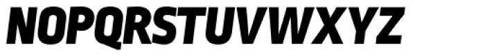 Ropa Sans Black Italic Font UPPERCASE