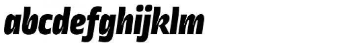 Ropa Sans Black Italic Font LOWERCASE