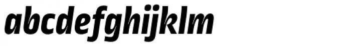 Ropa Sans ExtraBold Italic Font LOWERCASE