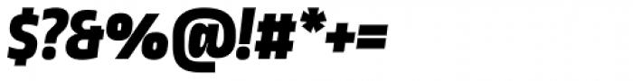 Ropa Sans SC Black Italic Font OTHER CHARS