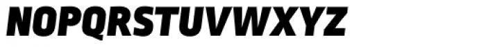 Ropa Sans SC Black Italic Font LOWERCASE