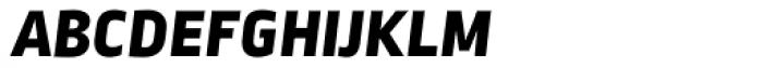 Ropa Sans SC ExtraBold Italic Font LOWERCASE