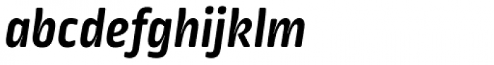 Ropa Soft Pro Bold Italic Font LOWERCASE