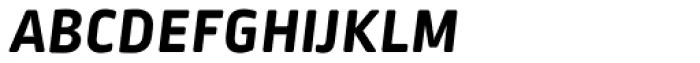 Ropa Soft SC Pro Bold Italic Font LOWERCASE