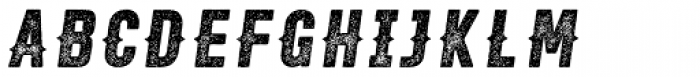 Roper Press Heavy Italic Font UPPERCASE