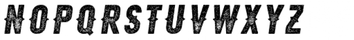 Roper Press Heavy Italic Font LOWERCASE