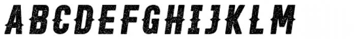 Roper Press Light Italic Font LOWERCASE