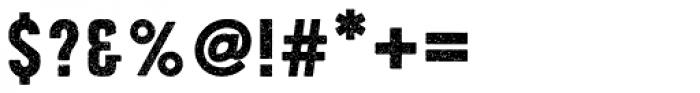 Roper Press Light Font OTHER CHARS