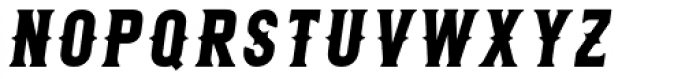 Roper Serif Italic Font UPPERCASE