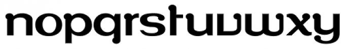 Roppongi Normal Font LOWERCASE