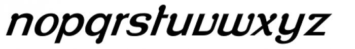 Roppongi Thin Oblique Font LOWERCASE