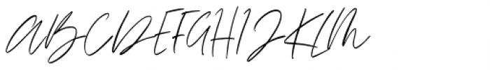 Rosalina Regular Font UPPERCASE