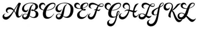 Rosarian Basic-Bold Font UPPERCASE