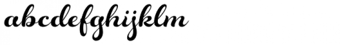Rosarian Basic-Bold Font LOWERCASE
