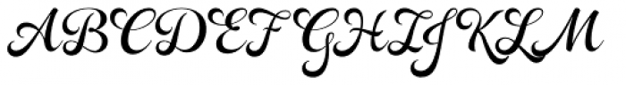 Rosarian Basic Font UPPERCASE