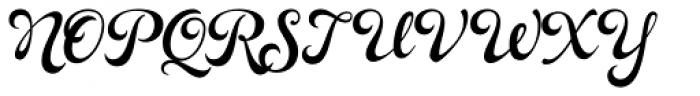 Rosarian Bold Font UPPERCASE