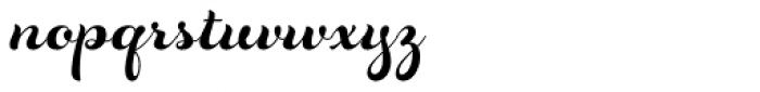 Rosarian Bold Font LOWERCASE