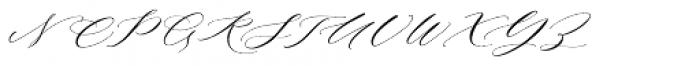 Roselyn Regular Font UPPERCASE