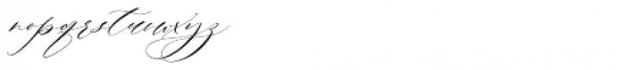 Roselyn Regular Font LOWERCASE