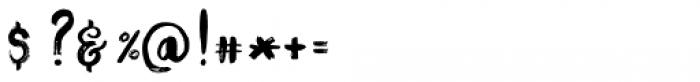Rosemary Love Regular Font OTHER CHARS