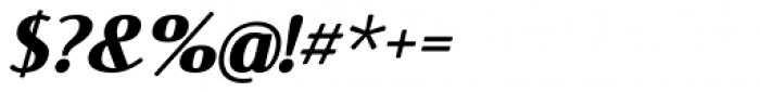 Rosengarten Sans Italic Font OTHER CHARS