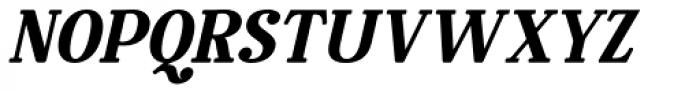 Rosengarten Serif Italic Font UPPERCASE