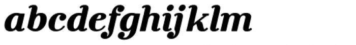 Rosengarten Serif Italic Font LOWERCASE