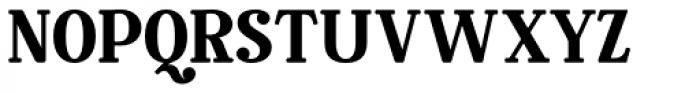 Rosengarten Serif Font UPPERCASE