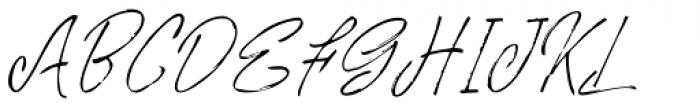 Rosianne Italic Font UPPERCASE
