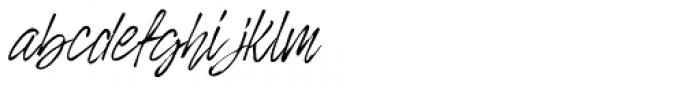 Rosianne Italic Font LOWERCASE