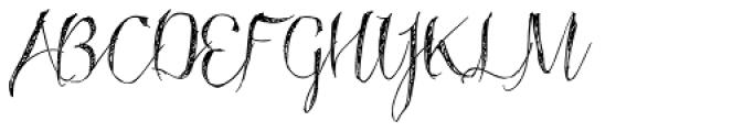 Roskrift Font UPPERCASE