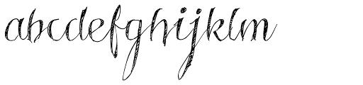 Roskrift Font LOWERCASE