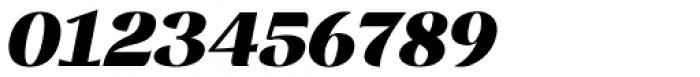 Rossanova Black Italic Font OTHER CHARS