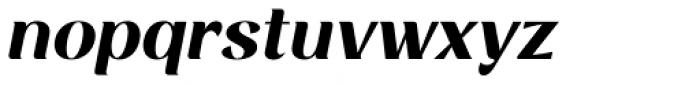 Rossanova Bold Italic Font LOWERCASE