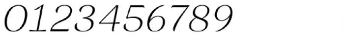 Rossanova Extra Light Italic Font OTHER CHARS