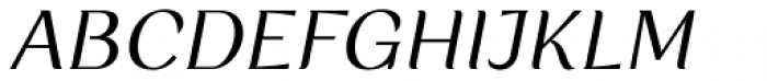 Rossanova Italic Font UPPERCASE