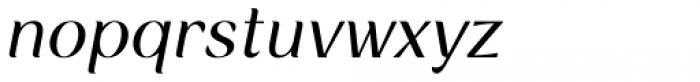 Rossanova Italic Font LOWERCASE