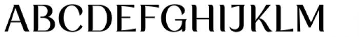 Rossanova Medium Font UPPERCASE