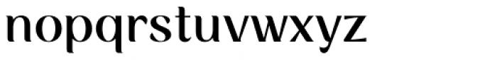 Rossanova Medium Font LOWERCASE