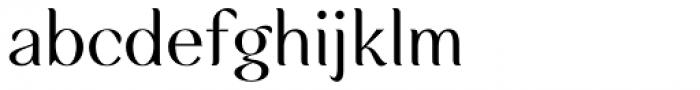 Rossanova Regular Font LOWERCASE
