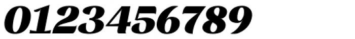 Rossanova Text Black Italic Font OTHER CHARS