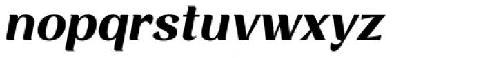 Rossanova Text Bold Italic Font LOWERCASE