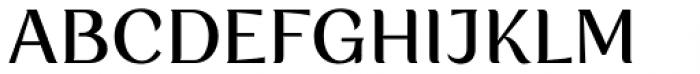 Rossanova Text Medium Font UPPERCASE