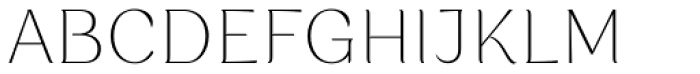Rossanova Thin Font UPPERCASE
