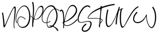 Rosse Regular Font UPPERCASE