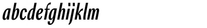 Rossika Italic Font LOWERCASE